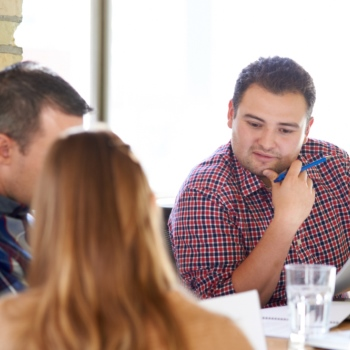 Meeting skills workshop group work