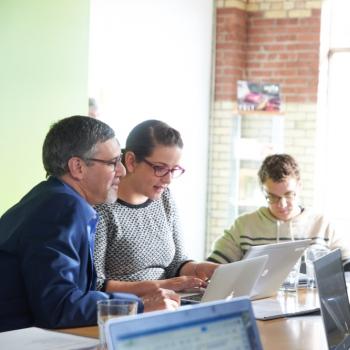 group work in meeting workshop